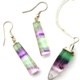 Fluorite Jewellery, Pendants and Earrings