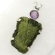 Moldavite pendants and jewellery