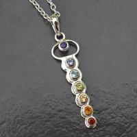 Gemstone Balance Chakra Pendant