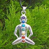 Meditation Chakra Pendant SP