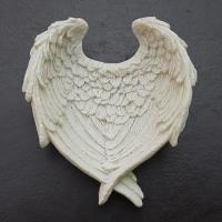 White Angel Wings Bowl 8cm x 7cm