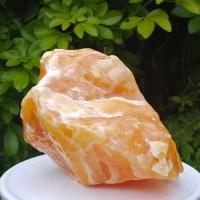 Large Orange Calcite Crystal No.1