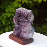 Amethyst Cluster Mounted No12