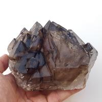 Large Smoky Quartz Elestial No1