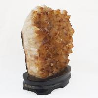Citrine Cluster on Stand No4x