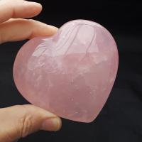 Very Large Rose Quartz Puff Heart No4