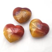 Vibrant Mookaite Hearts 40mm Wide