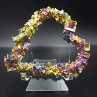 Bismuth Crystalized Heart No3
