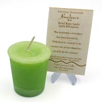 Abundance - Herbal Magic Votive Candle