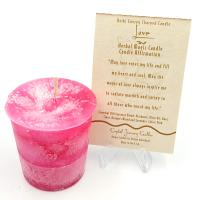 Love Herbal Magic Votive Candle