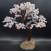 Rose Quartz Bonsai Gem Tree 500 Petal
