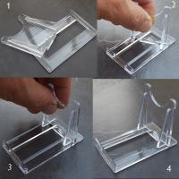 Two Part Crystal Stand 2X3""