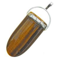 Tigers Eye Pendant Shield