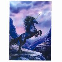 Greeting the Dawn Unicorn Card by Anne Stokes