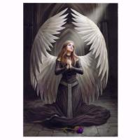 Prayer for the Fallen Card by Anne Stokes