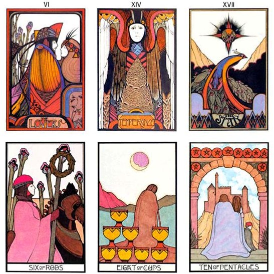 The Aquarian Tarot Cards by David Palladini - Classic Tarot Cards