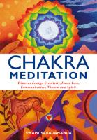 Chakra Meditation by Swami Saradananda Book