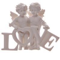 Cherubs in Love Ornament