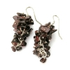 Garnet Grape Earrings