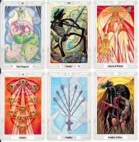 Crowley Thoth Tarot Cards, Large.