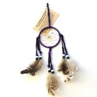 "3"" Dream Catcher - Purple"