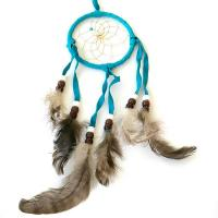 "3"" Dream Catcher - Light Blue"