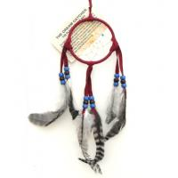 "3"" Dream Catcher - Red"
