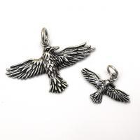 Silver Raven Spirit Pendants