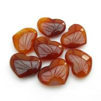 Mini Carnelian Quartz Hearts