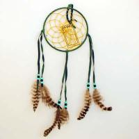 "6"" Dream Catcher -Green"