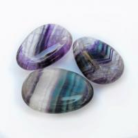 Fluorite Worry Thumb Stones