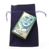 Large Purple Velour Bag 24cm Long