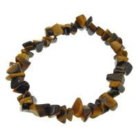 Tigers Eye Crystal Chip Bracelet