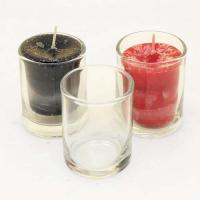 Clear Votive Candle Holder