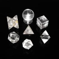 7 Piece Quartz Sacred Geometry Crystal Set