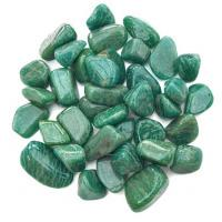 Dark Russian Amazonite Tumble Stones 2-2.5cm