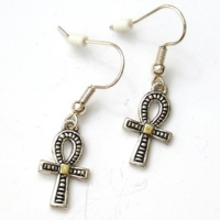 Egyptian Ankh Earrings