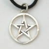Circled Pentagram Pendant