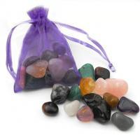 Small Crystal Gem Bag in Organza Pouch