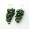 Aventurine Grape Earrings