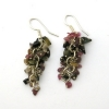 Tourmaline Grape Earrings