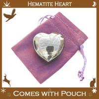 Hematite Puff Hearts