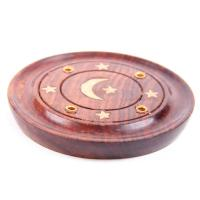 Moon Round Ash Catcher Incense Holder