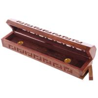 Sheesham Wood Incense Box with fretwork