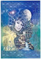Moon Goddess, Greetings Card