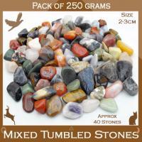 Mixed Tumble Stones 250g