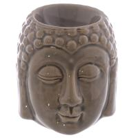 Buddha Head Oil Burner - Brown
