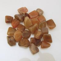 Small Orange Moonstone Tumble Stones 1-1.5cm