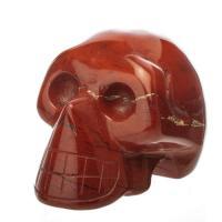 Red Jasper Crystal Skull No2