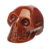 Carnelian Crystal Skull